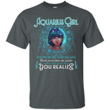 Aquarius Girl Knows More Than She Says T-Shirt