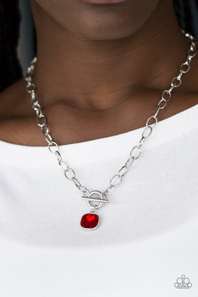 Dynamite Dazzle - Red Necklace