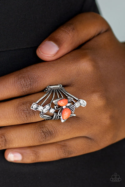 Beautiful In Butterflies - Orange Ring