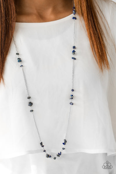 Canyon Catwalk - Blue Necklace