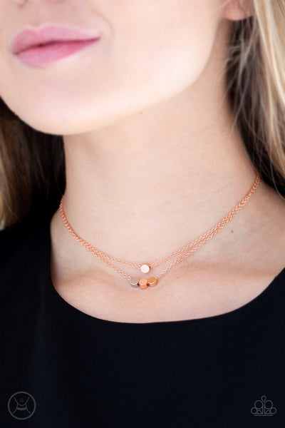 Mini Minimalist - Copper Necklace