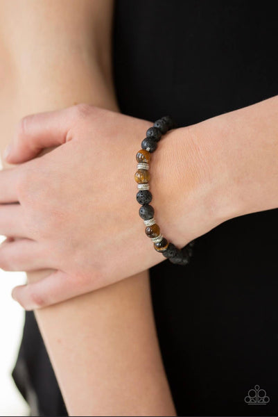 Peace and Quiet - Black Bracelet