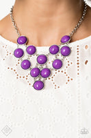 1 - Pop-YOU-lar Demand - Purple Necklace