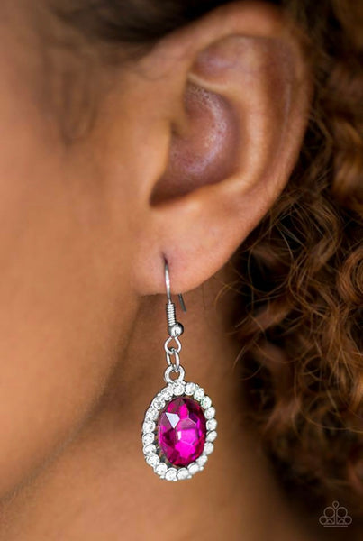 The FAME of the Game - Pink Earrings