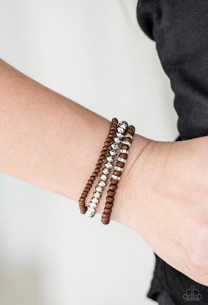 Ideal Idol - Brown Bracelet
