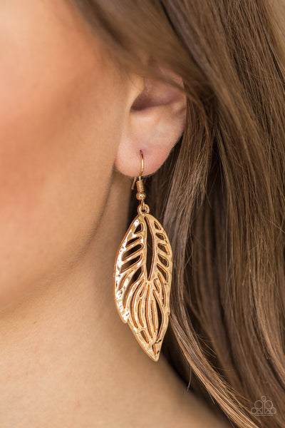 Come Home To Roost - Gold Earrings