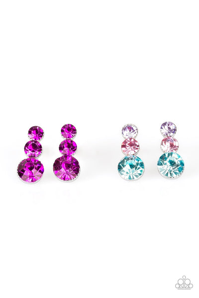 Three Tier Post Earrings