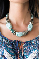 In Good Glazes - Green Necklace