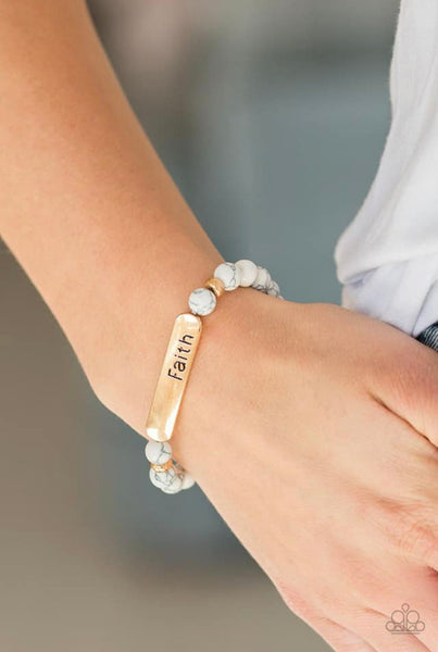 Fearless Faith - Gold Bracelet