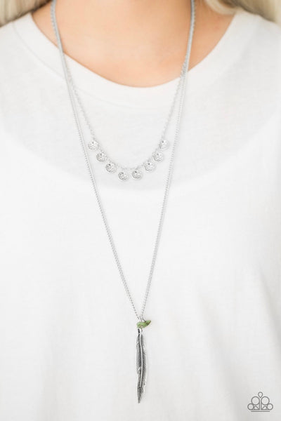 Mojave Musical - Green Necklace