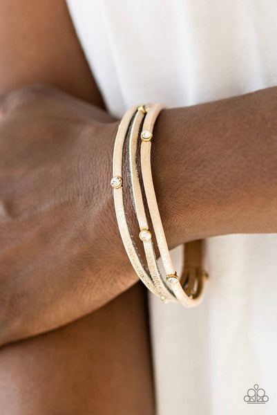 Drop a Shine - Gold Bracelet