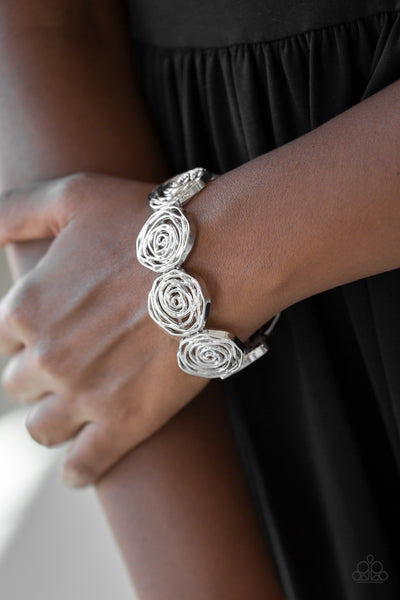 BEAT Around the Rosebush - Silver Bracelet
