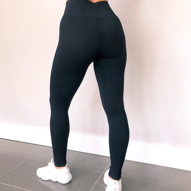 VIBE High Waist Leggings by Stylish AF Fitness Co