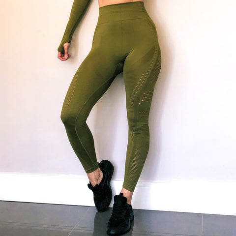 Mesh Performance Leggings by Stylish AF Fitness Co