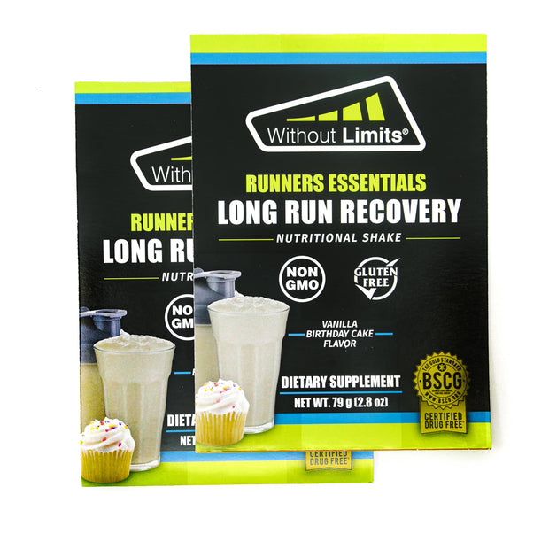 LONG RUN RECOVERY Nutritional Shake - Vanilla Birthday Cake Flavor