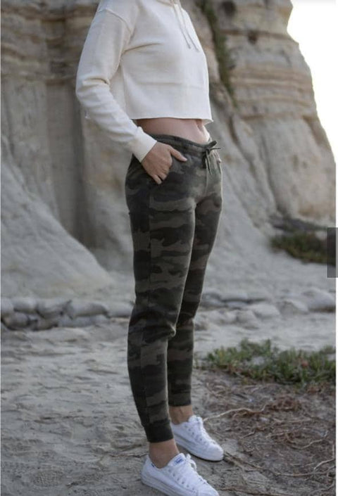 Forest Camo Wash Sweatpants