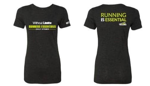 Running Is Essential T-Shirt  - FREE with any 3 Month Vitamin or 24-48 Shake Purchase