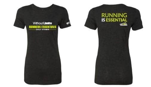 Women's 'Running Is Essential' T-Shirt