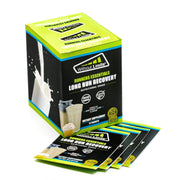 Runners Essentials 1 Shake Per Week - 1 Month - 4 Shakes Vanilla Birthday Cake Flavor - 4 to 48 Single Serve Packets