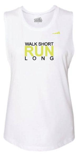 Walk Short Run Long Women's Tee - Without Limits™ Runners Essentials