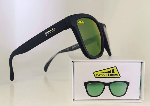 Without Limits™ goodr co-branded Sunglasses - Black - Without Limits™ Runners Essentials