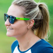Without Limits™ goodr co-branded Sunglasses - Black/Green - Without Limits™ Runners Essentials