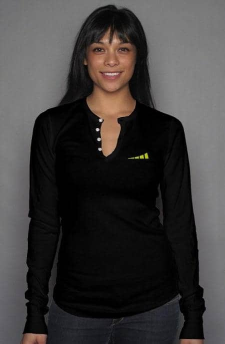 Apliiq tshirts S / Black Without Limits™ Women's Long Sleeve Henley