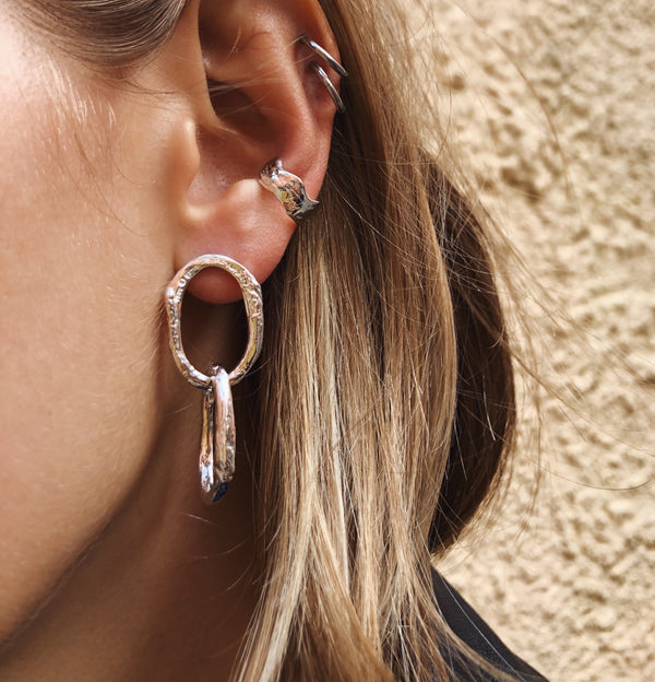 Double Links Earrings
