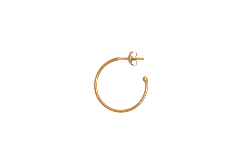 Plain Hoop Gold