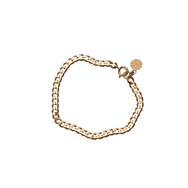 Linked Chain Bracelet Gold
