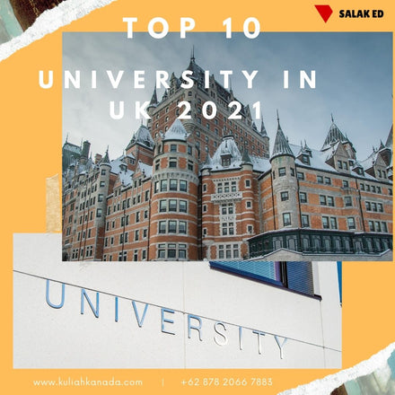 Top 10 Universitas di UK untuk 2021