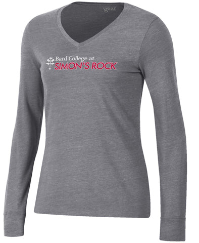 Gear For Sports® TriBlend Long Sleeve V-Neck Tee