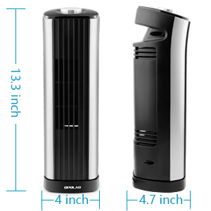 OPOLAR Mini Oscillating Tower Fan Desk Fan