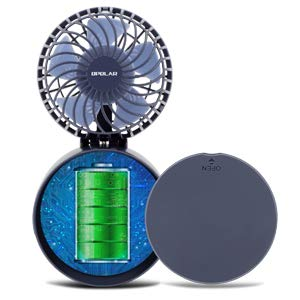 OPOLAR Battery or USB Operated Necklace Fan