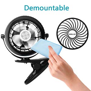 OPOLAR Battery Operated Clip on Fan