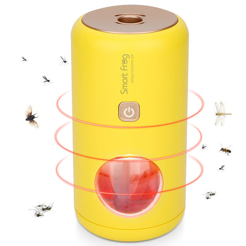 【2020 Upgraded】Portable Electric Mosquito repeller with Night Light