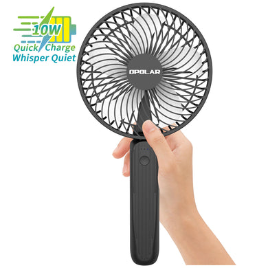 OPOLAR Biggest Handheld Fan with Superpower Battery (10000mAh)