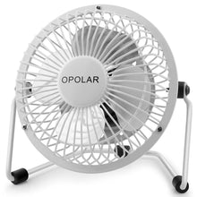 Load image into Gallery viewer, OPOLAR F401 4 Inch USB Small Desk Fan