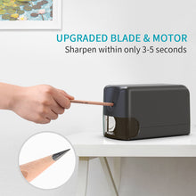 Load image into Gallery viewer, Electric Industrial Pencil Sharpener with Heavy Duty Helical Blade