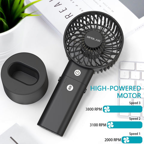 Battery Operated Handheld Personal Fan