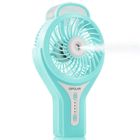 OPOLAR Battery or USB Operated Handheld Misting Fan