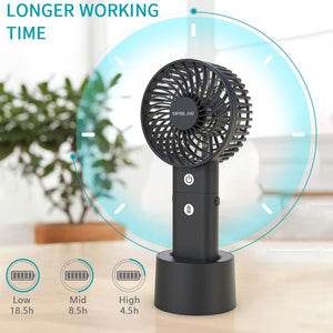2019 New Battery Operated Handheld Personal Fan