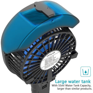 OPOLAR Battery or USB Handheld Misting Fan