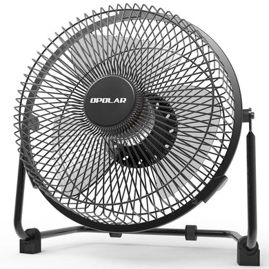 OPOLAR 9 inch USB Desk Fan - F511(No Battery)