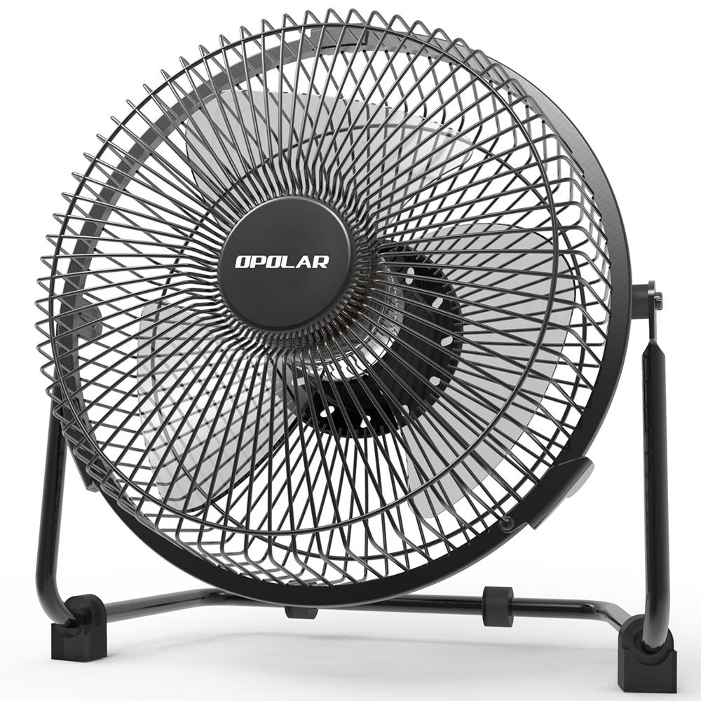 OPOLAR 9 inch USB Desk Fan - F511