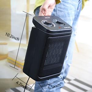 OPOLAR 800/1500 Watts Portable Electric Heater