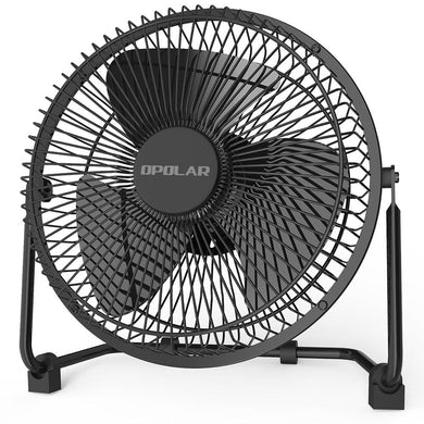 OPOLAR 10 Inch Metal Desk Fan