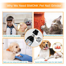 Load image into Gallery viewer, 2019 Upgraded Dog Nail Grinder