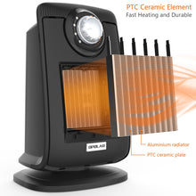 Load image into Gallery viewer, OPOLAR 1500W Bathroom Space Heater