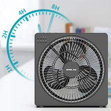Load image into Gallery viewer, OPOLAR 8 Inch USB Desk Fan(Included Adapter)